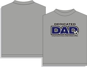 Utopia Dedicated Dad Soccer T-shirt