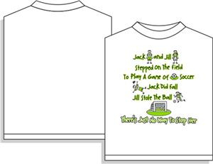 Utopia Soccer Little Jill Short Sleeve T-shirt