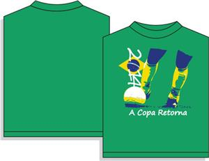 Utopia Soccer 2014 The Cup Returns T-shirt