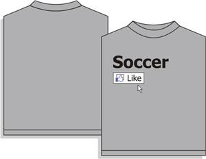 Utopia Soccer Like Short Sleeve T-shirt