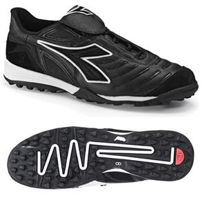 Diadora Maracana TF Soccer Shoes - Black