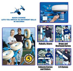 Jugs COMBINATION Baseball Pitching Machines