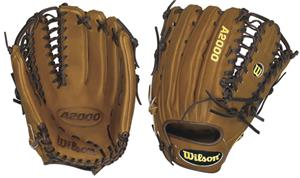 A2000 Leather Outfield 12.75&quot; Baseball Gloves
