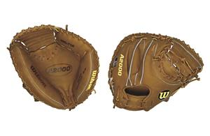 "A2000 Leather Catcher 32.5"" Baseball Mitt"