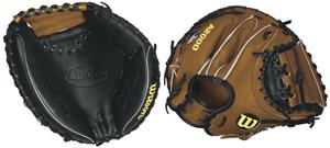 "A2000 Leather Catchers 32.5"" Baseball Mitt"