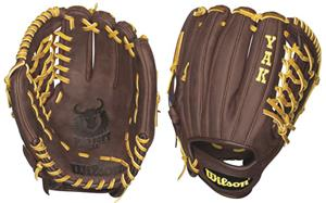 "Wilson YAK Leather Pitcher 11.75"" Baseball Gloves"