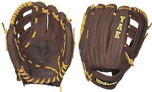 "Wilson YAK Leather Infield 11.75"" Baseball Gloves"