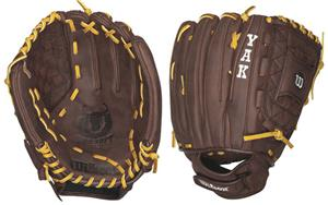 "YAK Leather All Positions 12"" Fastpitch Gloves"