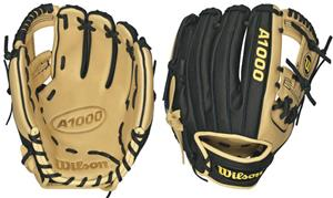 "Wilson A1000 Leather Infield 11.5"" Baseball Gloves"