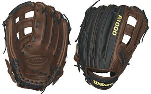 "A1000 Leather Outfield 12.5"" Baseball Gloves"