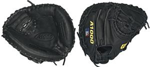 "Wilson A1000 Leather Catcher 32.5"" Baseball Mitt"