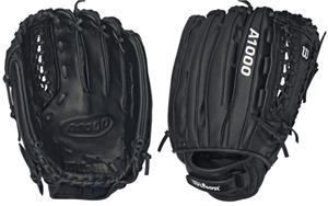"A1000 Leather All Positions 12.5"" Fastpitch Gloves"
