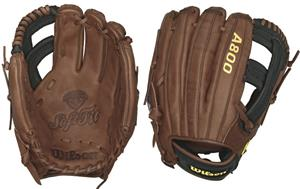 "Wilson A800 Leather Infield 11.75"" Baseball Gloves"
