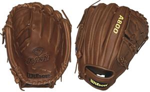 "Wilson A800 Leather Pitcher 12"" Baseball Gloves"
