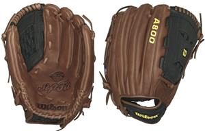 "Wilson A800 Leather Outfield 12.5"" Baseball Gloves"