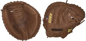 "Wilson A800 Leather Catchers 32.5"" Baseball Mitt"