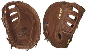 "Wilson A800 Leather 1st Base 12"" Baseball Gloves"