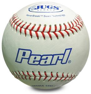 Jugs PEARL Leather Baseballs DZ-w/Bucket Option