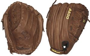 "A800 Leather All Positions 13"" Slowpitch Gloves"