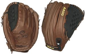 "A800 Leather All Positions 14"" Slowpitch Gloves"