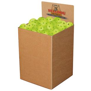 Jugs Bulk Box of 100 BULLDOG Poly Baseballs