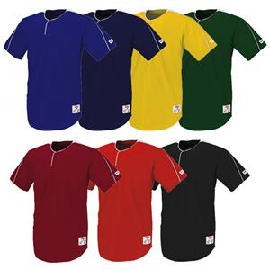 Wilson Textreme 1-Button Placket Baseball Jersey