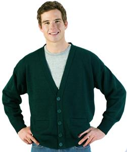 Edwards Unisex V-Neck Cardigan with Two Pockets