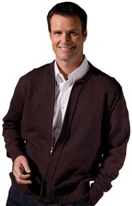 Edwards Unisex Full Zip Cardigan with 2 Pockets