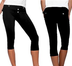 Bluefish Sport Button Capri