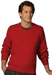Edwards Mens V-Neck Cross Over Sweater