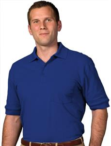 Edwards Unisex Short Sleeve Soft Touch Pique Polo