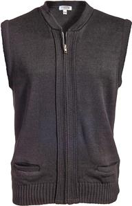 Edwards Unisex Zipper Vest with 2 Pockets