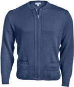 Edwards Unisex Zipper Cardigan with 2 Pockets