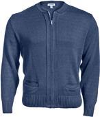 Edwards Unisex Zipper Cardigan with 2 Pockets