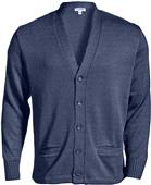 Edwards Unisex Button V-Neck Cardigan w/2 Pockets