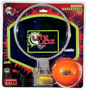 Youth Lite UPZ Basketball Illuminates Hoop Set