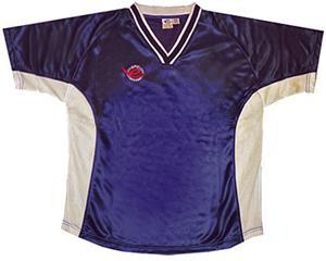 Pre-#ed NAVY PRESTIGE Soccer Jerseys w/WHITE #s