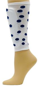 Red Lion Polka Dot Soccer Shin guard Sleeves
