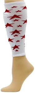 Red Lion Milky Way Stars Soccer Shin guard Sleeves