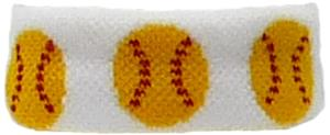 Red Lion Softball Bracelet/Ponytail Holder