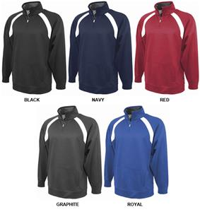 Pennant Mens Performance 1/4 Zip Fleece Pullover