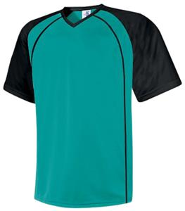 CO-PRE NUMBERED H5 TEAL SOCCER JERSEYS W/BLACK #