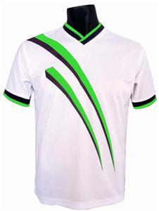 Pre-#ed AGGRESSOR Soccer Jerseys LIME w/BLK #s