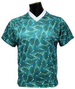 CO-H5  TEAL LIGHTNING SOCCER JERSEYS W/BLACK #s