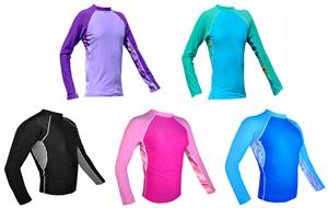 Plangea Sport Women's Long Sleeve Rashguards