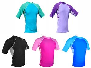 Plangea Sport Women's Short Sleeve Rashguards