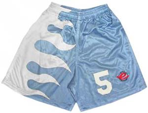Pre-Numbered CROSSFIRE Soccer Shorts W/WHITE #s