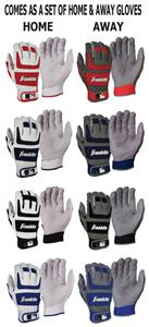 Franklin Shok-Sorb Pro Home &amp; Away Batting Gloves