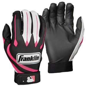 Franklin Sports Youth Series Pink Batting Gloves