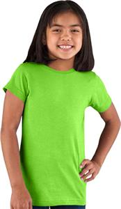LAT Sportswear Girls Longer Length T-Shirts